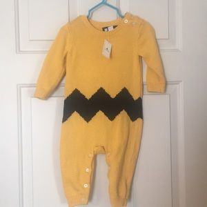 Baby Gap Peanuts Charlie Brown Coverall